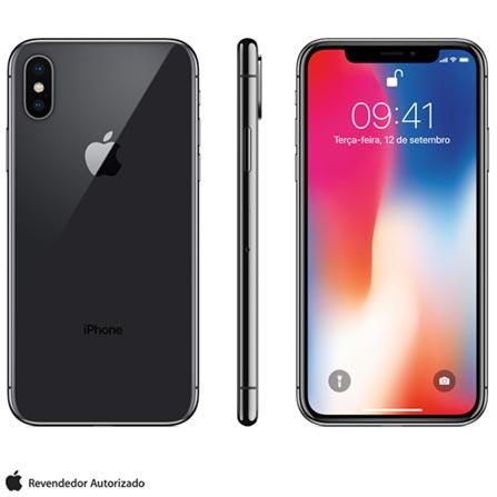 Iphone X Cinza Espacial, Com Tela de 5,8\ Bivolt