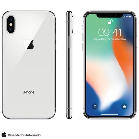 Iphone X Prata, Com Tela de 5,8\ Bivolt