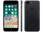 Iphone 7 Plus Apple 32gb Preto Matte 4g Tela 5.5 - Câm. 12mp + Selfie 7mp Ios 11 Proc. Chip A10