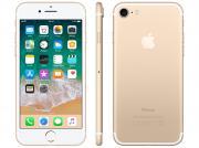 Iphone 7 Apple 128gb Dourado 4g Tela 4.7 Retina - Câm. 12mp + Selfie 7mp Ios 11 Proc. Chip A10