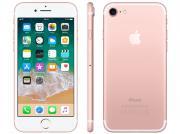 Iphone 7 Apple 128gb Ouro Rosa 4g Tela 4.7 Retina - Câm. 12mp + Selfie 7mp Ios 11 Proc. Chip A10