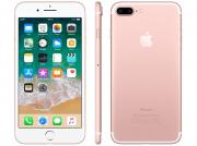 Iphone 7 Plus Apple 32gb Ouro Rosa 4g Tela 5.5 - Câm. 12mp + Selfie 7mp Ios 11 Proc. Chip A10