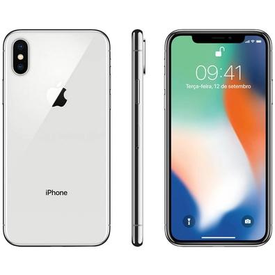 Iphone X Prateado, 256gb - Mqag2