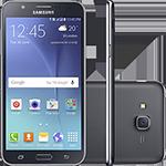 Smartphone Samsung Galaxy J7 Duos Dual Chip Android 5.1 Tela 5.5\ 16gb 4g Câmera 13mp - Preto