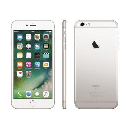 Iphone 6s Plus Apple Com 32gb, Tela 5,5 Hd, 3d Touch, Ios 9, Sensor Touch Id, Câmera Isight 12mp, Wi-fi, 4g, Gps, Bluetooth e Nfc - Prateado