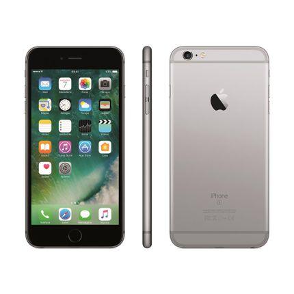 Iphone 6s Plus Apple Com 32gb, Tela 5,5 Hd, 3d Touch, Ios 9, Sensor Touch Id, Câmera Isight 12mp, Wi-fi, 4g, Gps, Bluetooth e Nfc - Cinza Espacial