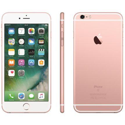 Iphone 6s Plus Apple Com 32gb, Tela 5,5 Hd, 3d Touch, Ios 9, Sensor Touch Id, Câmera Isight 12mp, Wi-fi, 4g, Gps, Bluetooth e Nfc - Ouro Dourado
