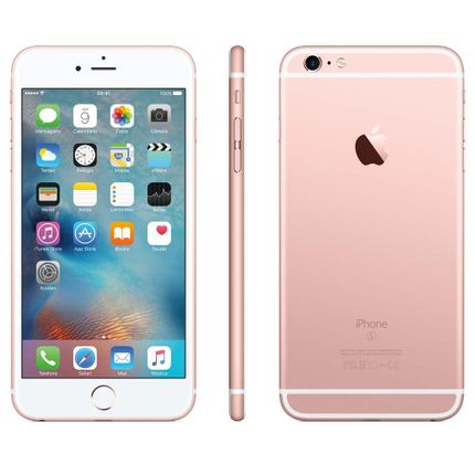 Iphone 6s Plus Ouro Rosa Wi-fi 4g Ios 9