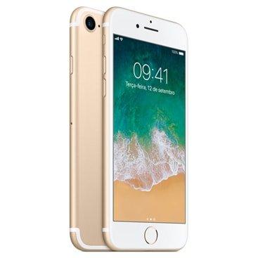 Iphone 7 Apple Dourado 128gb, Desbloqueado - Mn942br/a