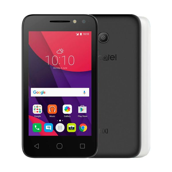 Celular Alcatel Ot 4034e Pixi 4 Colors - Dual Chip, Câmera Frontal Selfie 5mp, Memória Interna 8gb - Preto