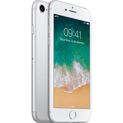Iphone 7 128gb Prateado Desbloqueado Ios 10 Wi-fi + 4g Câmera 12mp - Apple