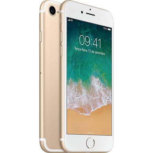 Iphone 7 128gb Dourado Desbloqueado Ios 10 Wi-fi + 4g Câmera 12mp - Apple
