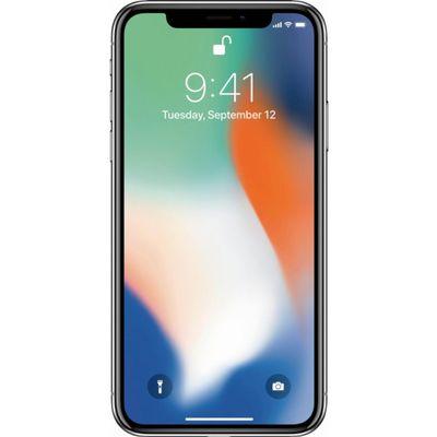 Smartphone Apple Iphone X 256g Prata Tela 5.8 Câmera 12mp (ref.128949)      Cod:  128949