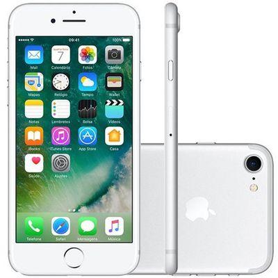 Iphone 7 Apple 128gb Prateado (ref.108053)      Cod:  108053