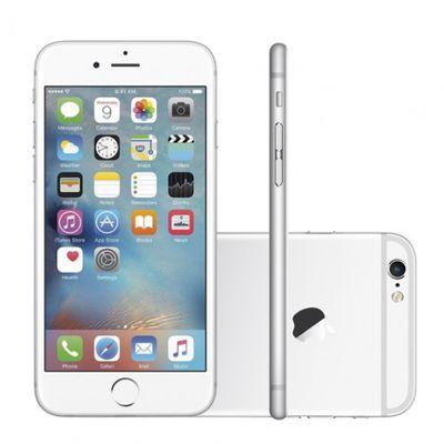 Seminovo: Smartphone Apple Iphone 6 64gb Prata Tela 4.7 Câmera 8mp (ref.123883)      Cod:  123883