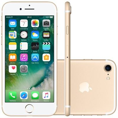 Smartphone Apple Iphone 7 128gb Dourado (ref.108052)      Cod:  108052