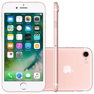 Smartphone Apple Iphone 7 128gb Ouro Rosa (ref.108055)      Cod:  108055