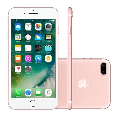 Smartphone Apple Iphone 7plus 32gb Ouro Rosa (ref.108066)      Cod:  108066