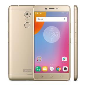 Smartphone Lenovo Vibe K6 Plus Dourado Com 32gb, Tela 5.5\, Câmera 16mp, 4g, Dual Chip, Android 6.0, Ram de 3gb e Processador Qualcomm Octa-core