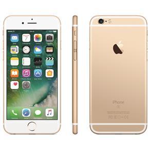 Iphone 6s Apple Com 64gb, Tela 4,7 Hd, 3d Touch, Ios 9, Sensor Touch Id, Câmera Isight 12mp, Wi-fi, 4g, Gps, Bluetooth e Nfc - Dourado