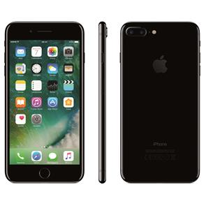 Iphone 7 Apple Plus Com 128gb, Tela Retina Hd de 5,5, Ios 11, Dupla Câmera Traseira, Resistente à Água, Wi-fi, 4g Lte e Nfc - Preto Brilhante