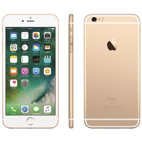 Iphone 6s Plus Apple Com 32gb, Tela 5,5 Hd, 3d Touch, Ios 11, Sensor Touch Id, Câmera Isight 12mp, Wi-fi, 4g, Gps, Bluetooth e Nfc - Dourado