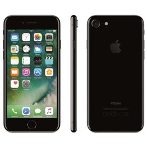 Iphone 7 Apple Com 128gb, Tela Retina Hd de 4,7 Com 3d Touch, Ios 11, Touch Id, Câmera 12mp, Resistente à Água, Wifi, 4g Lte e Nfc - Preto Brilhante