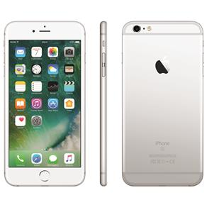 Iphone 6s Plus Apple Com 16gb, Tela 5,5 Hd Com 3d Touch, Ios 9, Sensor Touch Id, Câmera Isight 12mp, Wi-fi, 4g, Gps, Bluetooth e Nfc - Prateado