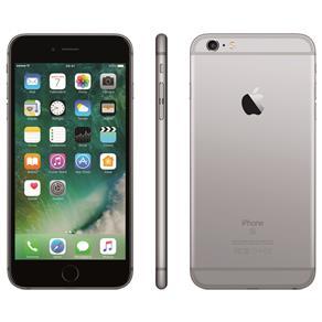 Iphone 6s Plus Apple Com 64gb, Tela 5,5 Hd, 3d Touch, Ios 9, Sensor Touch Id, Câmera Isight 12mp, Wi-fi, 4g, Gps, Bluetooth e Nfc - Cinza Espacial