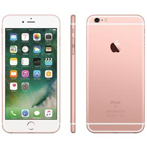 Iphone 6s Plus Apple Com 64gb, Tela 5,5 Hd Com 3d Touch, Ios 11, Sensor Touch Id, Câmera Isight 12mp, Wi-fi, 4g, Gps, Bluetooth e Nfc - Ouro Rosa