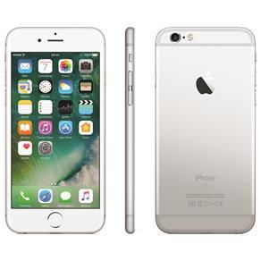 Iphone 6s Apple Com 64 Gb, Tela 4,7 Hd Com 3d Touch, Ios 9, Sensor Touch Id, Câmera Isight 12mp, Wi-fi, 4g, Gps, Bluetooth e Nfc - Prateado