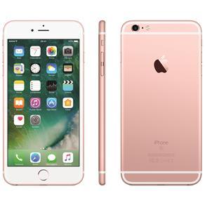 Iphone 6s Plus Apple Com 32gb, Tela 5,5 Hd, 3d Touch, Ios 11, Sensor Touch Id, Câmera Isight 12mp, Wi-fi, 4g, Gps, Bluetooth e Nfc - Ouro Rosa