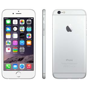 Iphone 6 Apple Com 64gb, Tela 4,7, Ios 8, Touch Id, Câmera Isight 8mp, Wi-fi, 3g/4g, Gps, Mp3, Bluetooth e Nfc - Prateado