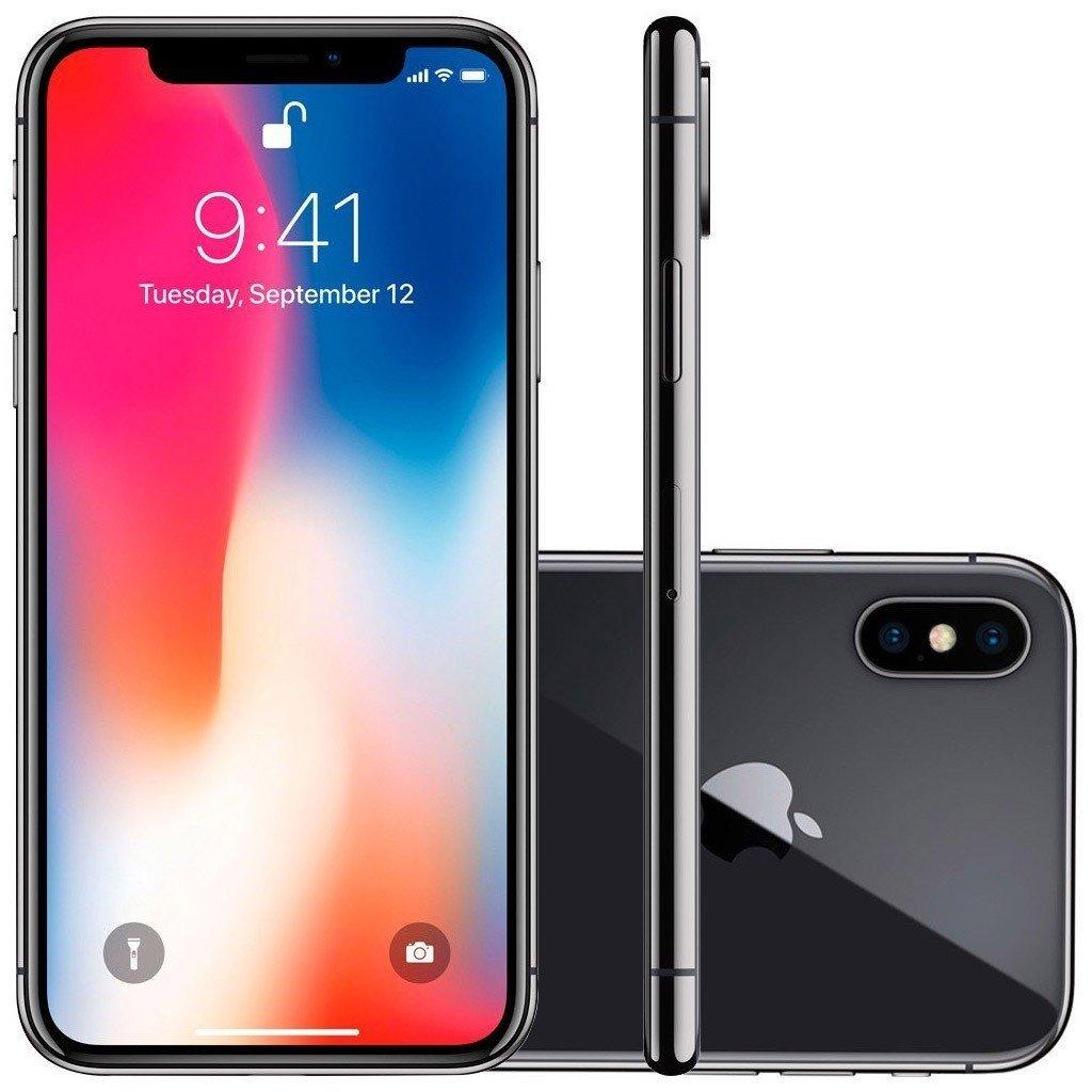 Smartphone Apple Iphone X 256gb Desbloqueado Cinza Espacial