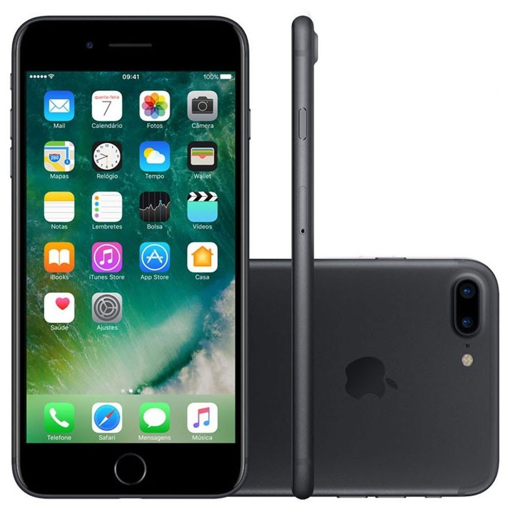 Smartphone Apple Iphone 7 Plus 32gb Desbloqueado Preto Matte