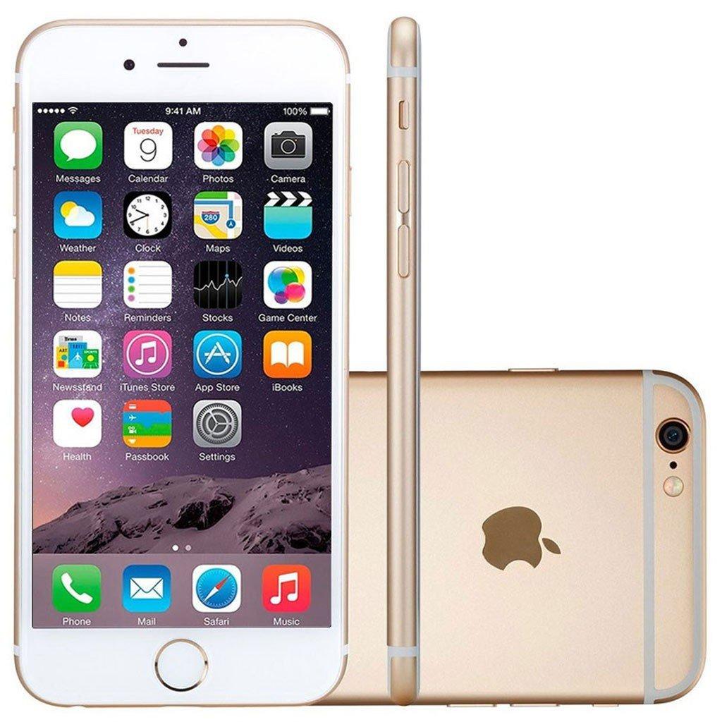 Smartphone Apple Iphone 6 Plus 16gb Desbloqueado Dourado