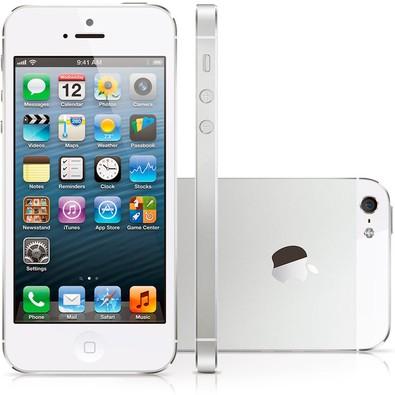 Apple Iphone 5s, Chip A7, Ios 8, Tela 4´, 16gb, Câmera 8mp, 4g, Desbloqueado - Prata