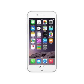 Celular Iphone 6 128gb Prateado Tela de 4.7 Chip A8 Touch Id Wireless 4g Lte Ios 8