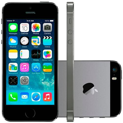 Smartphone Apple Iphone 5s 16 Gb Cinza Espacial