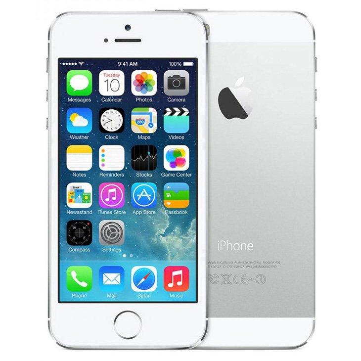 Iphone 5s Apple, Prata, 16 Gb, 4, Câmera 8 Megapixels - Desbloqueado