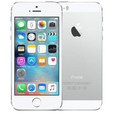 Iphone 5s Apple Prata 16 Gb, Desbloqueado - Me433br/a
