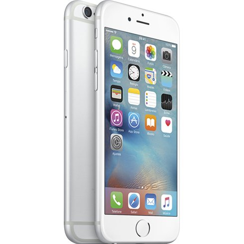 Iphone 6 Apple Silver 64 Gb, Desbloqueado - Mg3k2br/a