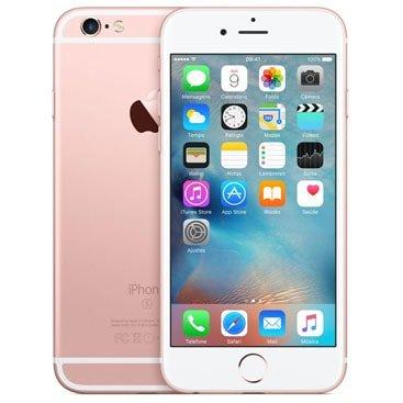 Iphone 6s Apple Ouro Rosa 128 Gb, Desbloqueado - Mkqw2br/a