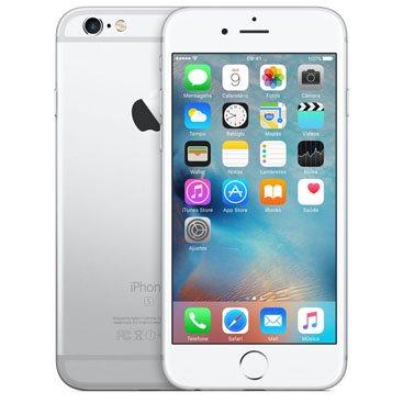 Iphone 6s Apple Prata 128 Gb, Desbloqueado - Mkqu2br/a