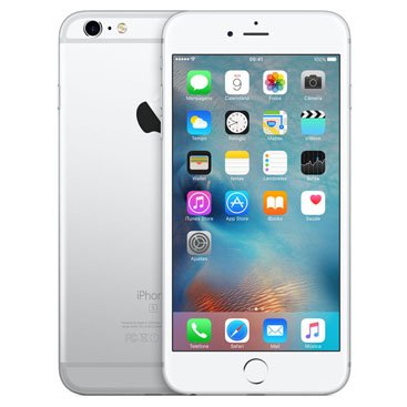 Iphone 6s Plus Apple Prata 128 Gb, Desbloqueado - Mkue2bz/a