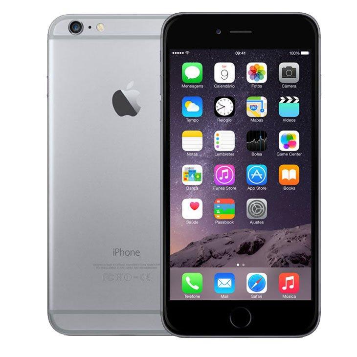 Iphone 6 Plus Apple, Cinza Espacial, 128 Gb, 5,5, Câmera 8 Megapixels - Desbloqueado