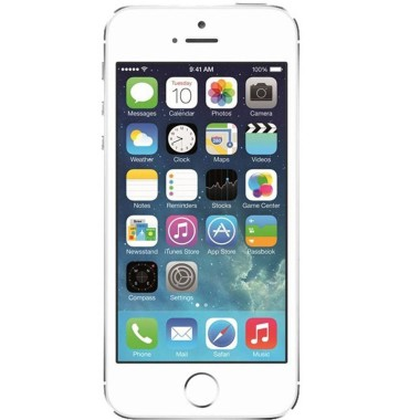 Smartphone Apple Iphone 5s Prata Tcdap143 16gb Câmera 8mp Tela 4\
