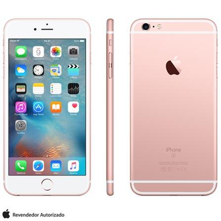 Iphone 6s Plus Rosa Dourado, Com Tela de 5.5 4g, 64 Gb, e Câmera de 12 Mp - Mku92bza - Aemku92bzarsa