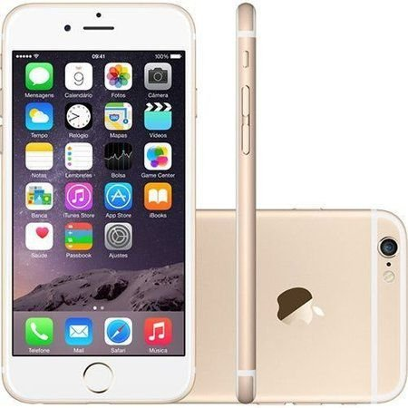 Smartphone Apple Iphone 6s 16gb Desbloqueado Gold - Iphone 6s