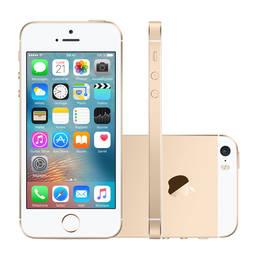 Iphone Se 16gb Dourado 4g 4.0 12mp Ios 9.3